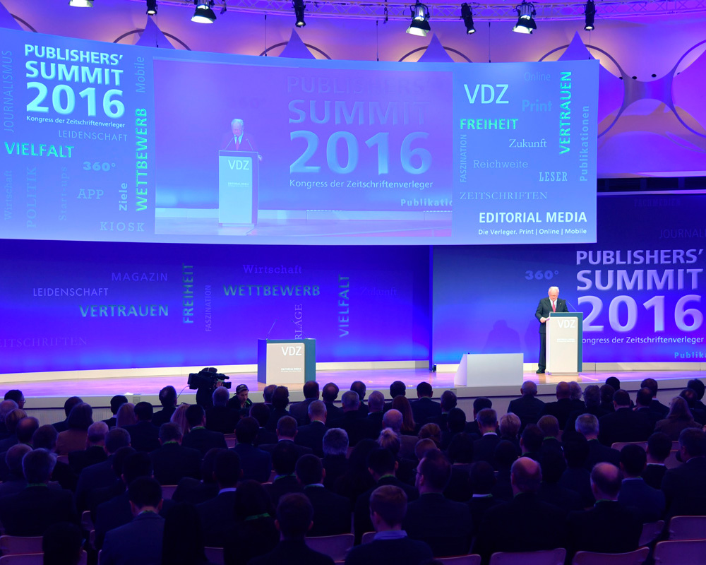 VDZ Publishers' Summit 2016